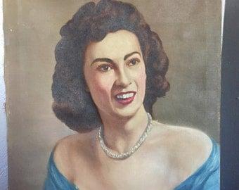 Mid Century Portrait