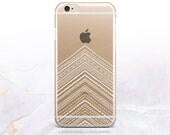 iPhone 7 Chevron Clear Rubber Case iPhone 7 Plus Clear Case iPhone 6 Clear Case iPhone 6S Case iPhone SE Case Samsung S7 Edge Case U62