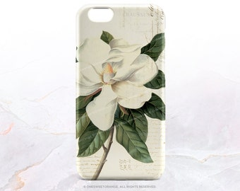 iPhone 7 Case Vintage Magnolia iPhone 7 Plus Case iPhone 6s Case iPhone SE Case iPhone 6 iPhone 5S Case Galaxy S7 Case Galaxy S6 Case V42