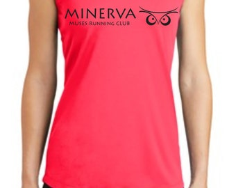 NEW Minerva Muses Running Club Tank | 2XL