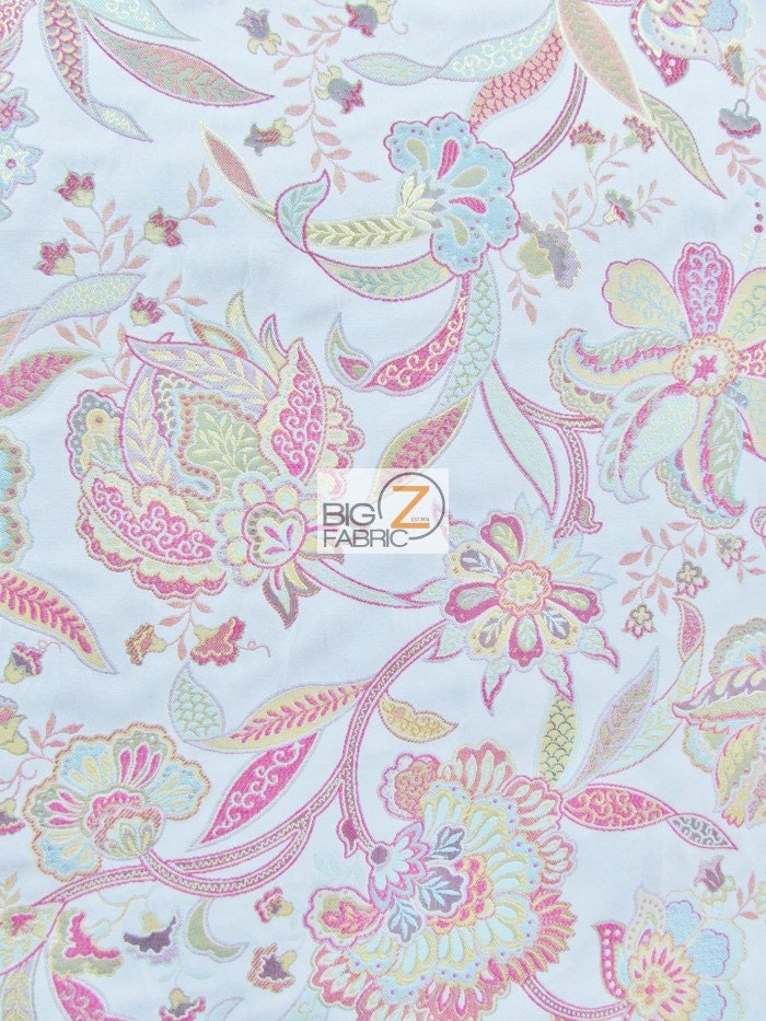 Garden of eden floral upholstery fabric multi sold by for Garden of eden xml design pattern