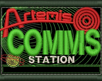 Artemis Comms Station Insignia Patch