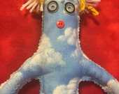 Pilot Dammit Doll, Flying, Airport, Pilots, Gift for Pilots, Flying Solo, Helicopters, Cessna, Piper, Grass Strip, Aviation