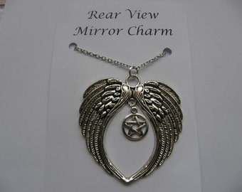 Supernatural Inspired Rear View Mirror Charm