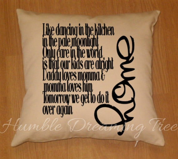 Home blue october lyrics balcony etsy blue family home for Bedroom floor letra