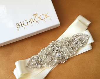 Pearl Wedding Sash - Wedding Sash - Dress Sash - HAWAII - BEST SELLER