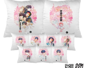 BTS Bangtan Boys In the Mood For Love Pillow