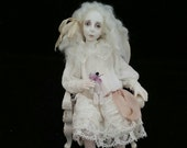 Little Ghost Girl 12th scale miniature OOAK doll by IGMA Artisan