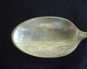 Libby Prison War Museum Souvenir Spoon 1863 to 1899
