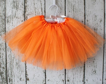 Orange SIGNATURE TUTU : The Paper Doll
