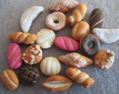 10 Miniature Mexican Sweet Breads Choice of Small or Extra Small
