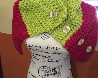 Tall Cowl Neck Warmer