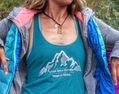 Womens Hiking Shirt | Womens Camping Shirt | Womens Adventure Shirt | Hiking Top | John Muir | Mountain Tank | Womens Mountain Shirt
