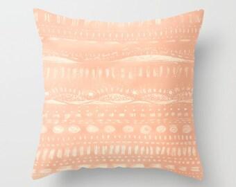 Light Pink Throw Pillow Cover, pink pillow cover, pink throw pillow, pink nursery decor, pastel pink pillow, pink pillow case