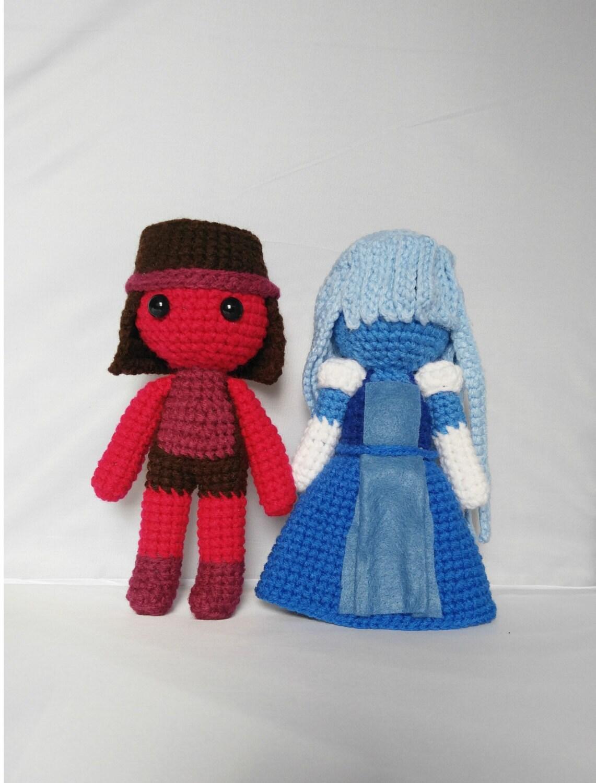 Amigurumi Ruby and Sapphire Crochet Steven by ...