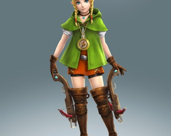 Linkle costume cosplay hyrule warriors zelda