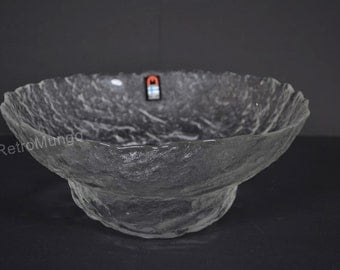 Humppila glass bowl  - Finland