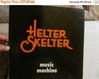 SALE Helter Skelter 80s Music Machine Record Album Vinyl Signed Russ Webb 80s rock music album