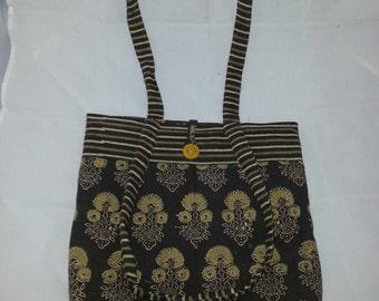 Hand Block Printed Fabric Bag MF506