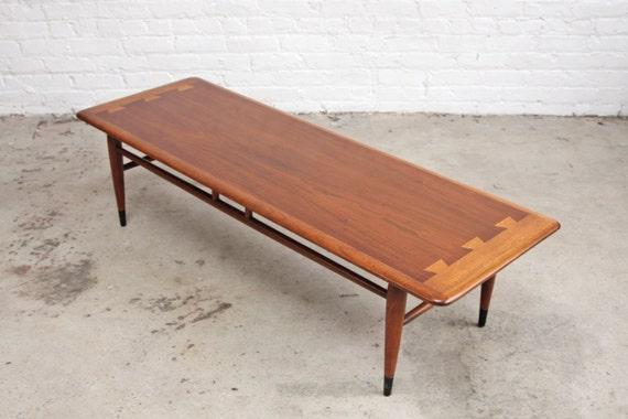 lane acclaim mid century coffee table. Black Bedroom Furniture Sets. Home Design Ideas