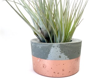 Concrete Planter - Sustainable Concrete Pot - Indoor Outdoor planter - Wedding Decor
