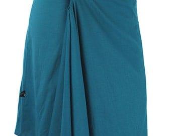 Origami Skirt- Bold Blue