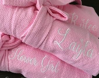 Flower Girl Gift, Flower Girl, Flower Girl Robe, Gifts for Flower Girl, Gifts for Bridesmaids, Flower Girl Gift Ideas, Ring Bearer Gift