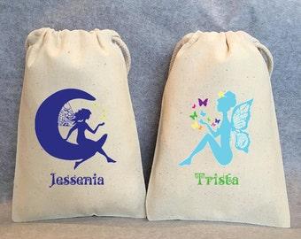 """10- Fairy, Fairies, Fairy Party, Fairy Party Favor, Fairy Birthday, Fairy party favor bags, 4""""x6"""""""
