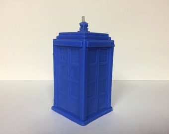 Doctor Who Tardis Candle