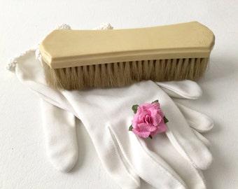 DuBarry Celluloid, Clothes Brush, DuBarry Brush, Vintage brush, Vanity item, Early plastic, Pyralin Brush, Dresser item, Gentleman's Dresser
