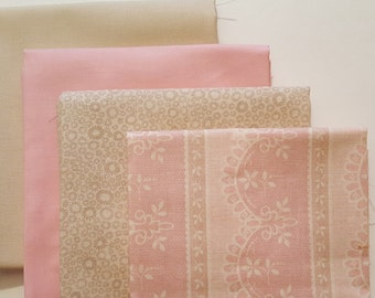 Riley Blake, Michael Miller and Coral Tree Fabric's fat quarter combination, a 4 piece bundle.
