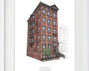 Custom Apartment Drawing