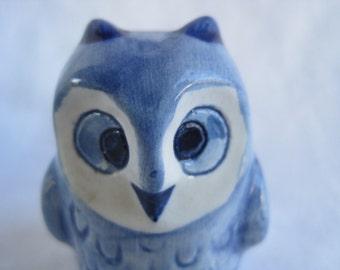 Little Blue Owls Vintage Owl Salt & Pepper Shaker Sets