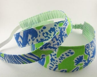 Fabric Headband, Cotton Headband, Reversible Headband, Custom Headband, Girls Headband, Summer Headband, Birthday Headband