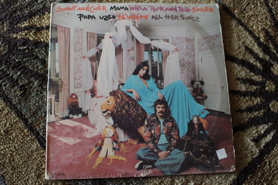 David Jones Personal Collection Record Album - Sonny and Cher - Mama Was A Rock and Roll Singer - Papa Used To Write All Her Songs