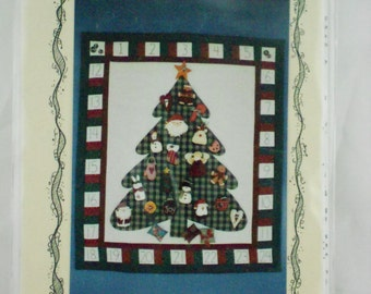 countdown to christmas advent wall quilt pattern