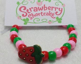 PARTY PACK Strawberry Shortcake Bracelet Kit