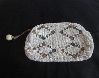 Vintage Beaded Evening Bag Clutch