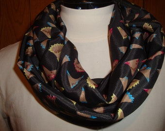 Colored Pencil Shavings Infinity scarf