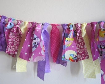 My Little Pony Banner Themed Birthday Decoration Photo Prop Cloth Banner