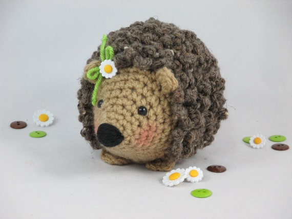 Amigurumi Stuffing : Crochet Hedgehog Amigurumi Hedgehog Stuffed Hedgehog