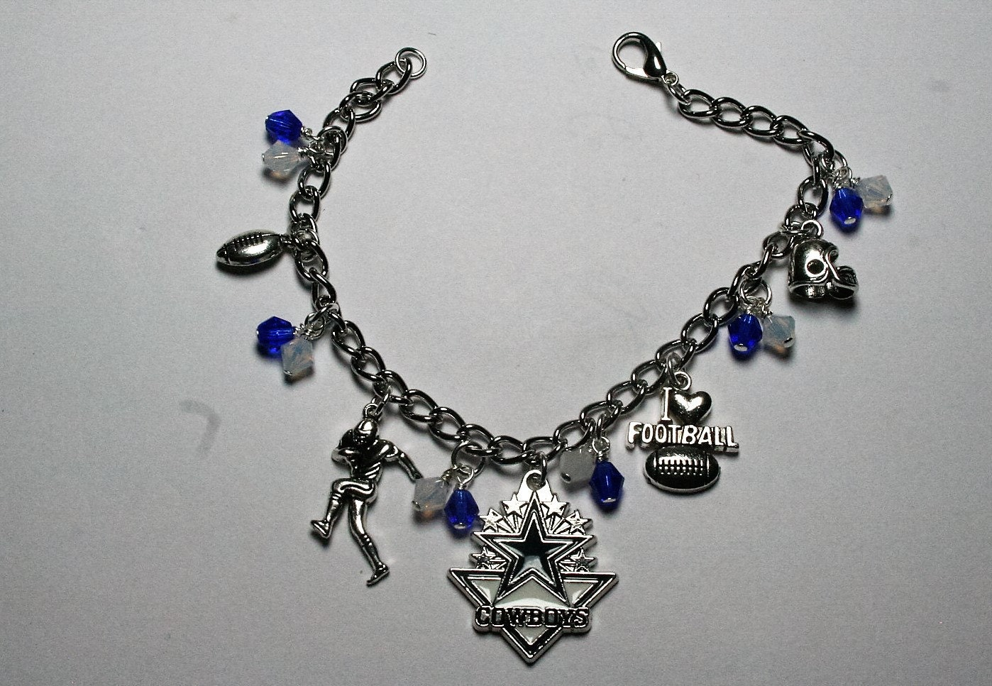 dallas cowboys charm bracelet dallas cowboys bracelet cowboys charm bracelet football 242