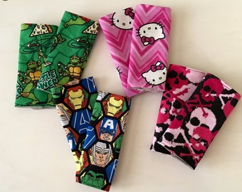 Marvel Baby Car seat Strap Covers Ninja Turtles