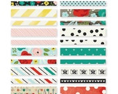 Simple Stories - Life In Color - Washi Tape - 24 Sheets - 5035