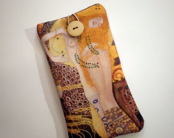 iPhone 7 case, iPhone 6 sleeve, iPhone 5, Samsung Galaxy S7 case, Samsung Galaxy Note, smartphone case, Huawei P9 case, Gustav Klimt art