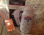 Corelle Compatibles Thermal Server Winter Holly Pattern Vintage Thermal Server