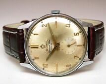 Vintage Darwil  Special Flat Lux 66 Men's Swiss Made watch 60's