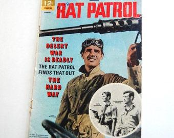Vintage Comic Book, The Rat Patrol