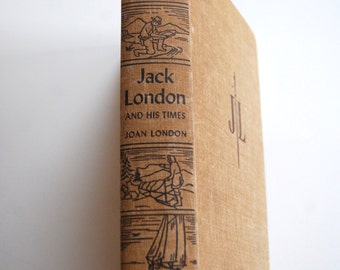 Vintage Book, Jack London and His Times