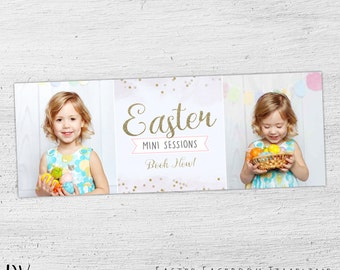 Gift card template easter photography gift certificate easter facebook timeline template facebook timeline cover cover photo spring easter negle Choice Image